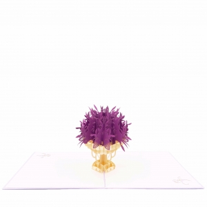 Flower Bouquet Pop Up Card r..