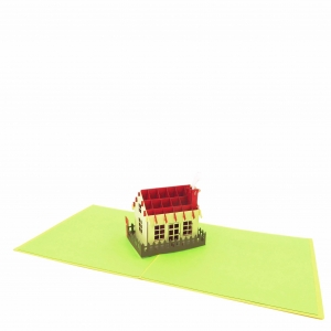 House Pop Up Card