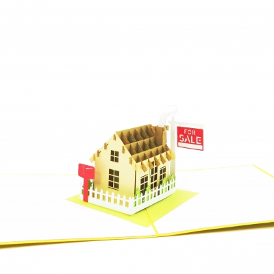 House For Sale Pop Up Real Estate Card