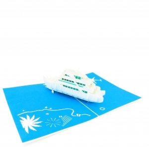 Cruise Ship Pop Up Card
