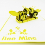 Bee Mine Happy Valentines Day Card