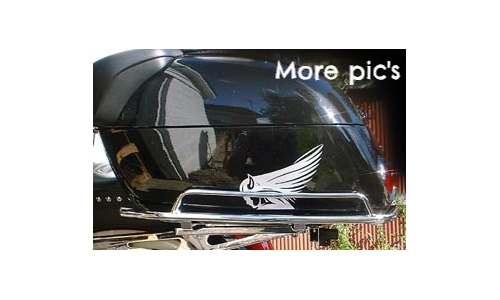 Honda Valkyrie Interstate Trunk Rails