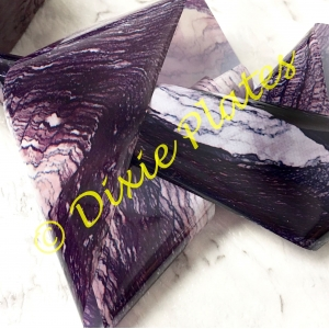 Purple Marble Nail Art Foil - 1 Meter