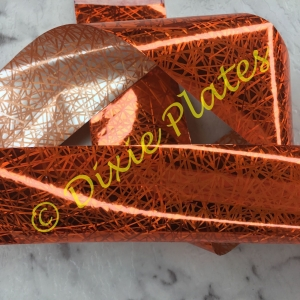Orange Splice Nail Art Foil - 1 Meter