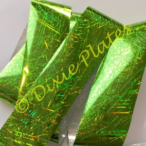 Lime Splice Nail Art Foil - 1 Meter