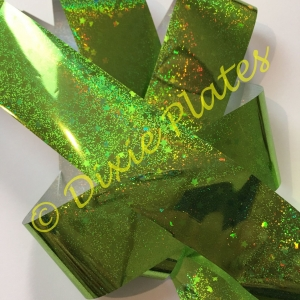 Lime Mini Stars Art Foil - 1 Meter