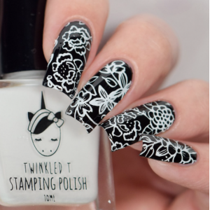Glow Up - Twinkled T Stamping Polish - SHIPPING TO AUSTRALIA ONLY