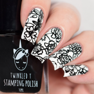 Vibin' - Twinkled T Stamping Polish - SHIPPING TO AUSTRALIA ONLY