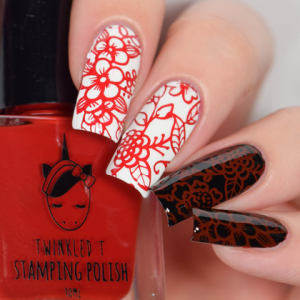 Lit - Twinkled T Stamping Polish - SHIPPING TO AUSTRALIA ONLY