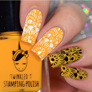 Saucey - Twinkled T Stamping Polish - SHIPPING TO AUSTRALIA ONLY