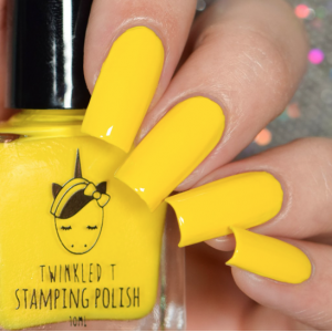 Subtweet - Twinkled T Stamping Polish - SHIPPING TO AUSTRALIA ONLY