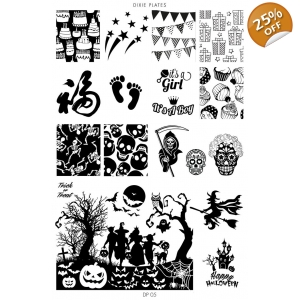 Dixie Plate DP05 - Halloween 2016 LIMITED EDITION