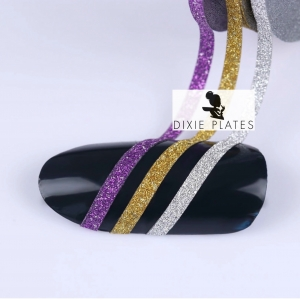 Glitter Striping Tape - 12 Colours Available