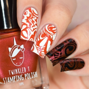 Swerve - Twinkled T Stamping Polish - SHIPPING TO AUSTRALIA ONLY
