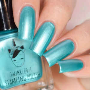 Fangirl - Twinkled T Stamping Polish - SHIPPING TO AUSTRALIA ONLY