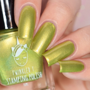 Friendzone - Twinkled T Stamping Polish - SHIPPING TO AUSTRALIA ONLY