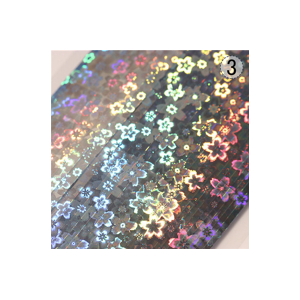 Metallic Holographic Laser Nail Tape