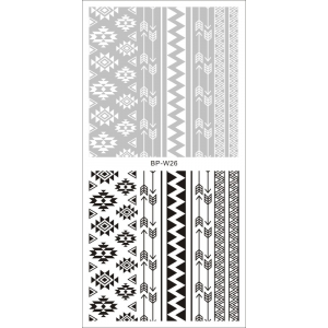 Aztec Water Decals - Choose From 2 Designs