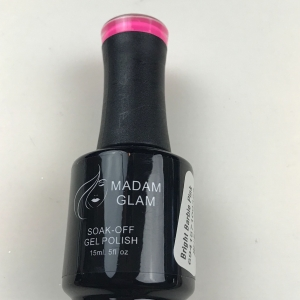 Madam Glam Bright Barbie Pink Gel Polish - SHIPPING TO AUSTRALIA ONLY