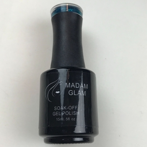 Madam Glam Emerald Green Gel Polish - SHIPPING TO AUSTRALIA ONLY