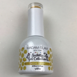 Madam Glam Lemon Delight Smoothie Gel Polish - SHIPPING TO AUSTRALIA ONLY