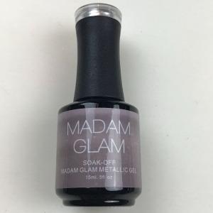 Madam Glam Metallic Silver Metallic Gel Polish - SHIPPING TO AUSTRALIA ONLY