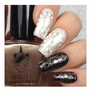LIQUID GOLD - Twinkled T Stamping Polish - SHIPPING TO AUSTRALIA ONLY