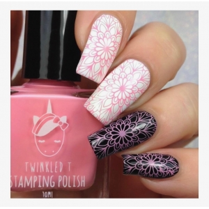 TICKLED - Twinkled T Stamping Polish - SHIPPING TO AUSTRALIA ONLY