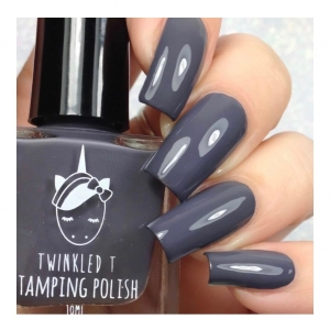 SMOKEY - Twinkled T Stamping Polish - SHIPPING TO AUSTRALIA ONLY