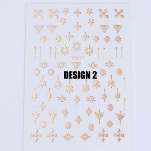 Rose Gold Boho Stickers - 2 Designs