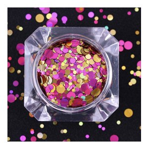 Pink Champagne Dotty Mix