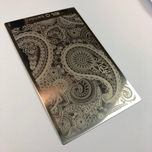 Yours Loves Sascha Paisley Heaven Stamping Plate