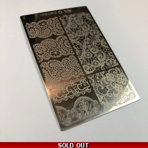 Yours Loves Sascha Mixture Me Stamping Plate