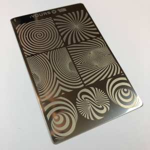 Yours Loves Sascha Illusional Stamping Plate
