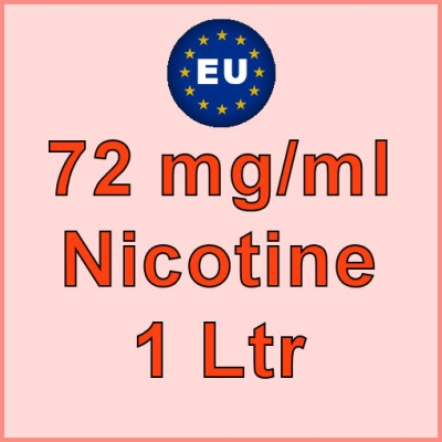 1 Ltrl - 72mg/ml EU Manufactured Nicotine