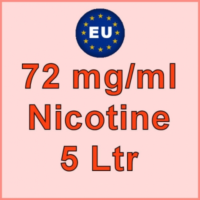5 Ltr - 72mg/ml EU Manufactured Nicotine