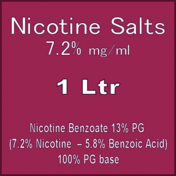 Nicotine Salts 72MG 100..