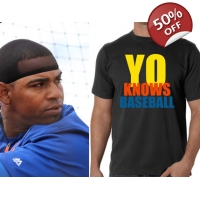 YO KNOWS BASEBALL SHIRT - YOENIS ..