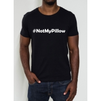 NotMyPillow T-shirt - spoof MyPil..