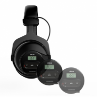 Quest HD DEUS WS4 Wireless unit Compatible Headphones.