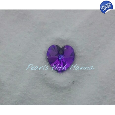 Swarovski® Purple Crystal Charm
