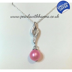 Pre-set Olympic Pendant Pink