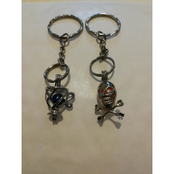 Cage Pendant Keyrings