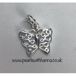 *NEW* Butterfly Scroll Charm