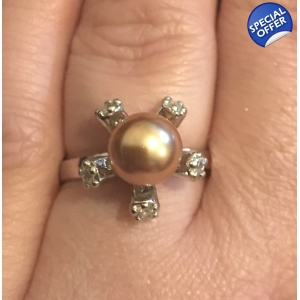 Flower Ring Size O