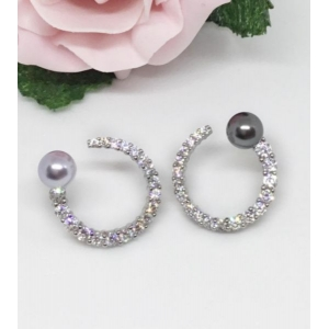 Diamante Hoops