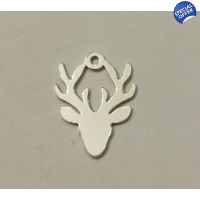 Stags Head Charm