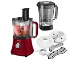 RUSSELL HOBBS DESIRE FOOD PROCESSOR - RED