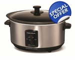 MORPHY RICHARDS SEARING POT AND SLOW COOKER STAI..