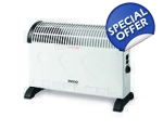 PIFCO 2000W CONVECTOR HEATER WITH TURBO FAN